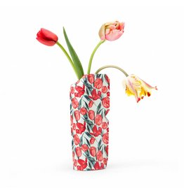 Paper Vase Cover Tulips (small)