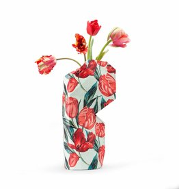 NEW: Paper Vase Cover Tulips