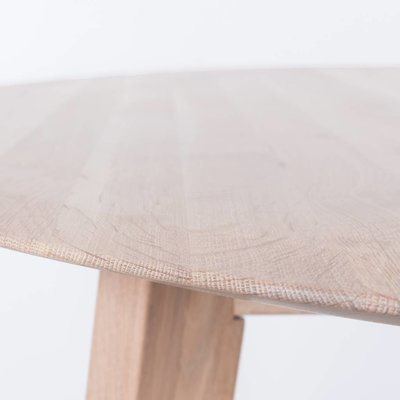 Sav & Okse Samt ovale tafel Eiken Whitewash