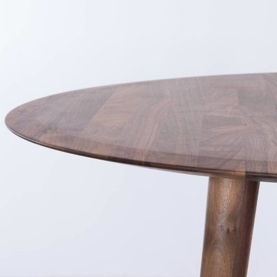 Sav & Okse Olger ronde tafel Walnoot