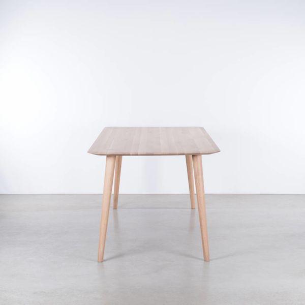 bSav & Okse Olger tafel Eiken Whitewash