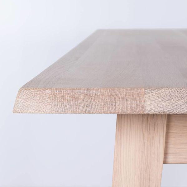 bSav & Okse Illum tafel Eiken Whitewash