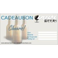 Extreme Beers 25 euro gift voucher