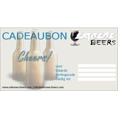 Extreme Beers Kadobon 75 euro