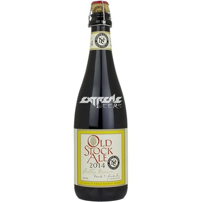 North Coast Brewing Co North Coast Old Stock Ale Cellar Reserve 2014 (Wheat Whiskey Barrel Aged)