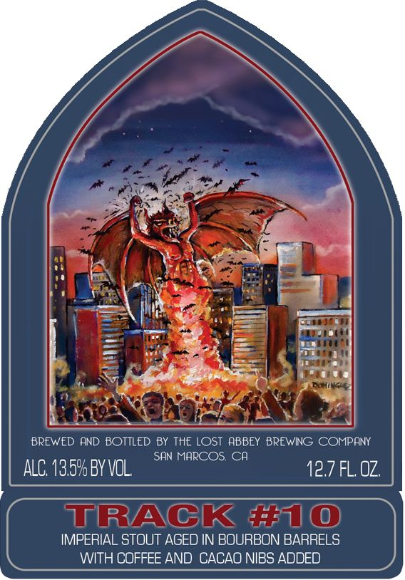 ... The Lost Abbey / Port Brewing Company Lost Abbey Track #10 Bat out of Hell ...