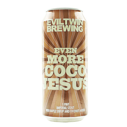 Evil Twin Brewing Evil Twin Even More Coco Jesus - 473 ml