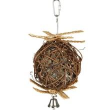 Trixie Trixie Natural Living Weidenball mit Glocke