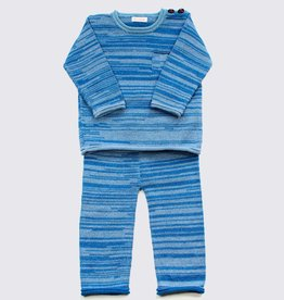 Alpaca set in blue