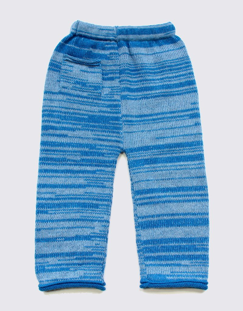 Alpaca setje in fijne blauwtinten