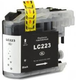 Brother NuOffice Brother LC-223 LC223XL zwart Compatible inkt cartridge