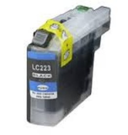 Brother NuOffice Brother LC-223 LC223XL cyan Compatible inkt cartridge