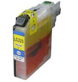 Brother NuOffice Brother LC-223 LC223XL geel Compatible inkt cartridge
