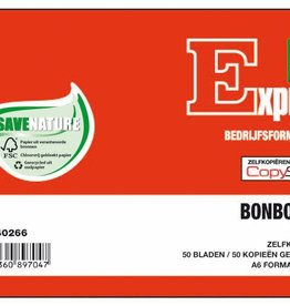 Expres Sigel Expres bonboekje A6 zelfkopierend 2x50 blad
