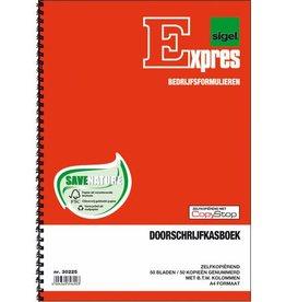 Expres Sigel Expres doorschrijfkasboek met BTW kolom A4 2x50 blad
