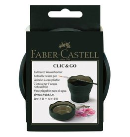 Faber Castell Faber Castell Clic & Go watercup groen