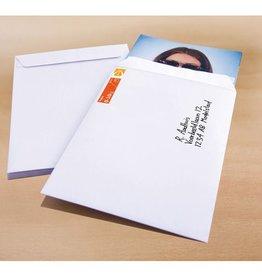 Raadhuis akte envelop Raadhuis 229x324mm C4 wit gegomd krimp a 25    stuks