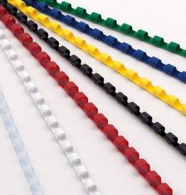 ProfiOffice bindruggen ProfiOffice 21 rings 100 stuks 19mm blauw