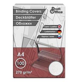 ProfiOffice schutbladen ProfiOffice A4 270gr. karton 100 stuks leer     grijs