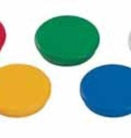 Dahle Dahle magneten  diameter 24 mm, draagkracht: 0,31 kg, geassorteerde kleuren