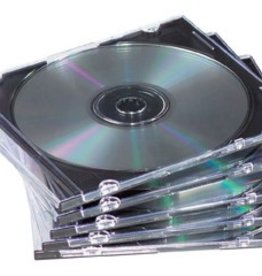 Fellowes Fellowes CD/DVD-doosje TRANSparant 25X