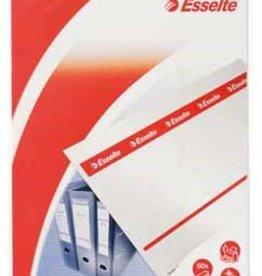 Esselte Esselte Printbare rugetiketten 75mm BREED 50X