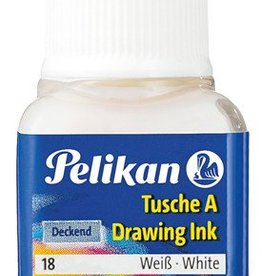 Pelikan Pelikan Oost-Indische inkt WIT