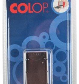 Colop Colop stempelkussen BL. 2 X .ZWART 20/P20S