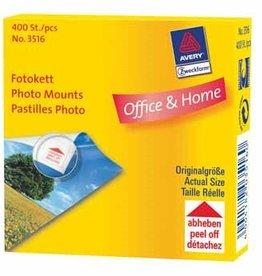 Avery Zweckform AVERY Fotokleefstrips FOTOHOEKJES 400ST TRANS