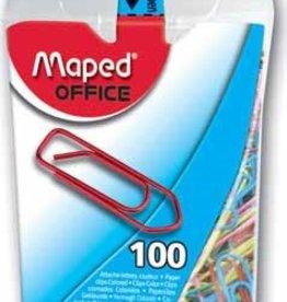 Maped Maped papierklemmen DS 100 PAPERCLIPS GEASS. KLEUR