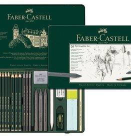 Faber Castell Faber Castell Pitt grafietset 26-delig