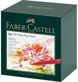 Faber Castell Faber Castell Pitt Artist studiobox 60 stuks Pen Brush