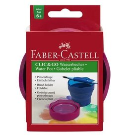 Faber Castell Faber Castell Clic & Go blackberry watercup
