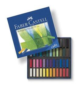 Faber Castell Faber Castell halve lengte etui à 48 stuks pastelkrijt