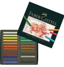 Faber Castell Faber Castell Polychromos etui à 24 stuks pastelkrijt