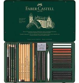 Faber Castell Faber Castell Pitt Monochrome set 33-delig groot