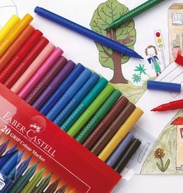 Faber Castell Faber Castell GRIP Colour etui 10 stuks viltstiften