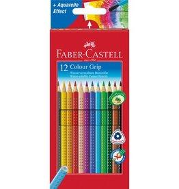 Faber Castell Faber Castell GRIP kartonnen etui a 12 stuks kleurpotloden