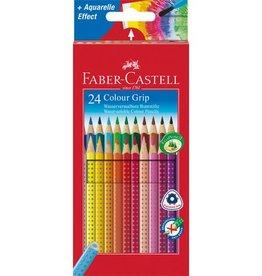 Faber Castell Faber Castell GRIP kartonnen etui a 24 stuks kleurpotloden