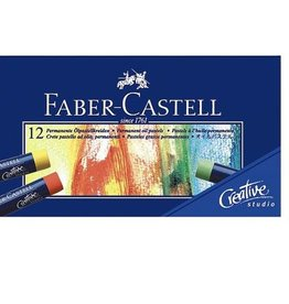 Faber Castell Faber Castell Creative Studio etui a 12 stuks oliepastelkrijtjes