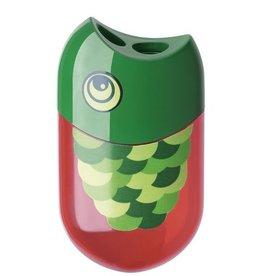 """Faber Castell Faber Castell """"Visdesign"""" 2-gaats puntenslijper + gum"""
