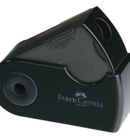 Faber Castell Faber-Castell Sleeve Mini enkel zwart puntenslijper