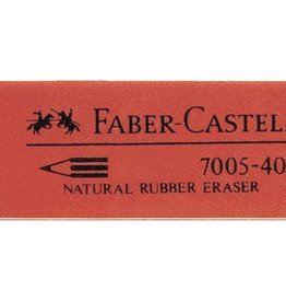 Faber Castell Faber Castell 7005 rubber rood gum