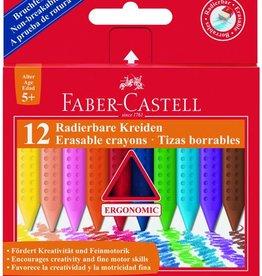 Faber Castell Faber Castell GRIP krijt doos 12 stuks