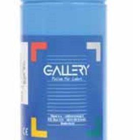 Gallery Gallery plakkaatverf, flacon van 1 l, blauw
