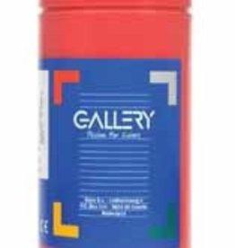 Gallery Gallery plakkaatverf, flacon van 1 l, donkerrood