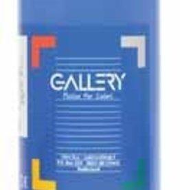 Gallery Gallery plakkaatverf, flacon van 1 l, donkerblauw