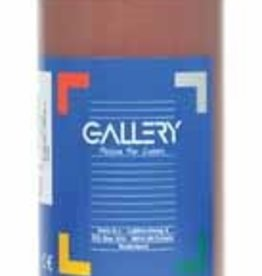 Gallery Gallery plakkaatverf, flacon van 1 l, donkerbruin