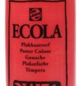 Talens Talens Plakkaatverf Ecola flacon van 500 ml, scharlakenrood