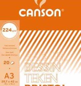 Canson Canson tekenblok Bristol ft 29,7 x 42 cm (A3)
